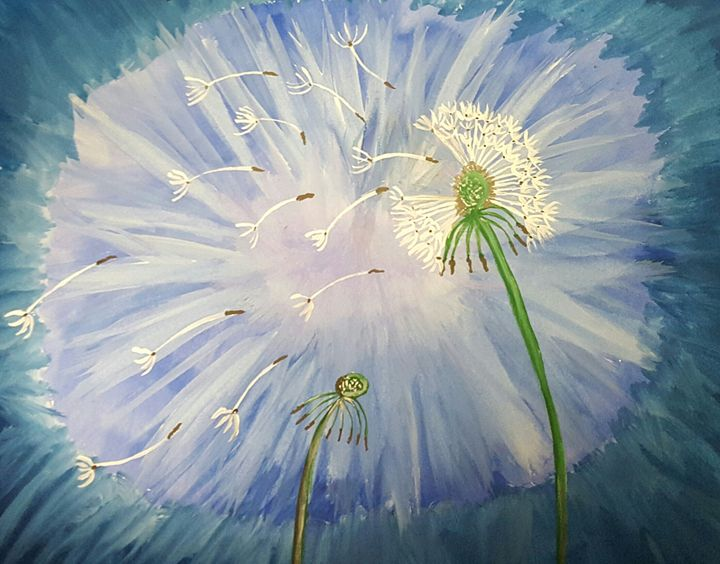 Dandelions - Jessica's Art
