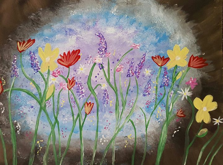 Wild flowers - Jessica's Art