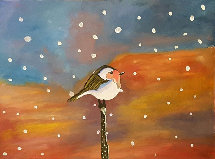 Winter evening - Jessica's Art