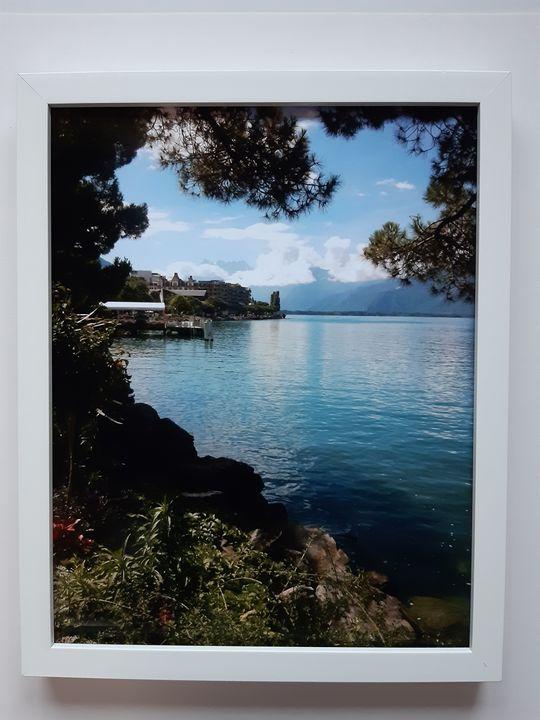 LAKE COMO ITALY - DIGITAL ART GALLERY a.l.UK