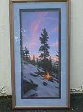"Stephen Lyman ""Fire Dance""$1700"