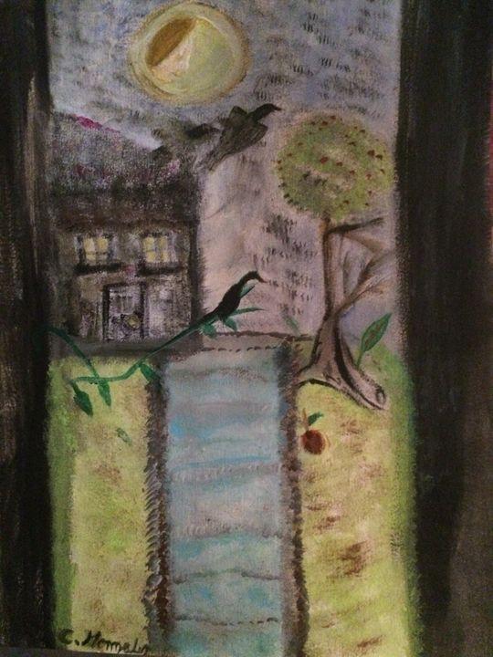 """THE WOMEN ON THE MOON"" - C.Gonzalez Art Gallery"