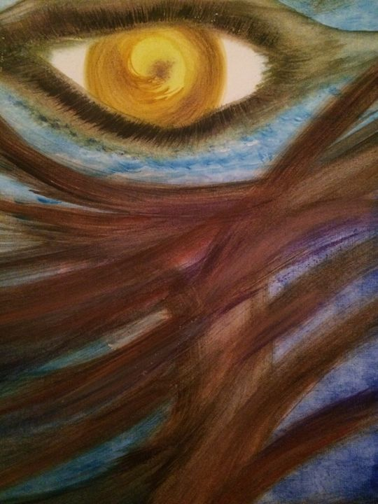 """EYE WATCHER"" - C.Gonzalez Art Gallery"