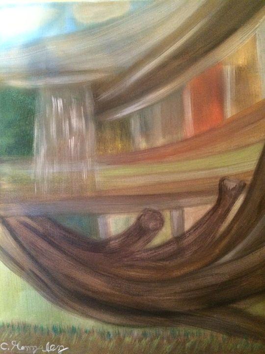 """EVER GREEN FOREST"" - C.Gonzalez Art Gallery"