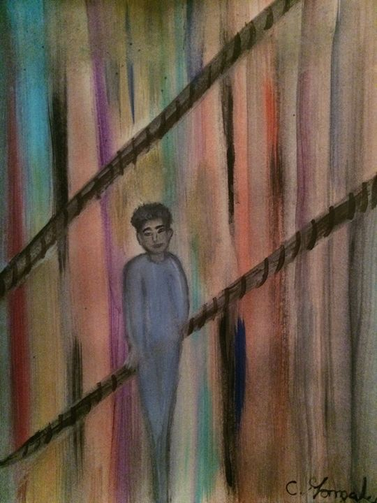 """""""HANGING ON"""" - C.Gonzalez Art Gallery"""