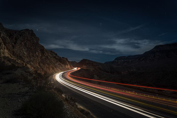 California night traffic - Jeb McConnell