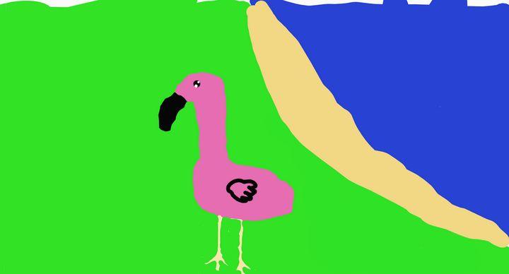 Flamingo Guy - Joely&Liberty