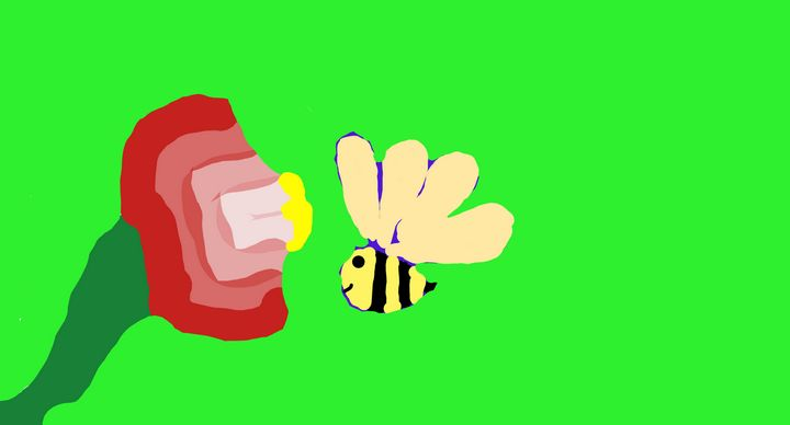 Bee and Flower - Joely&Liberty
