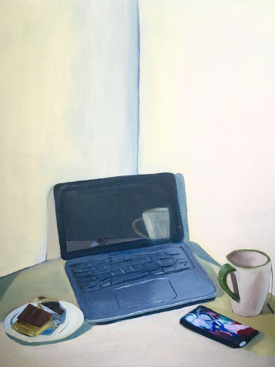 Work Space 1, 2016 - Anna L Pineda
