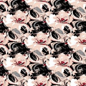 Floral illusions pattern - Amelia