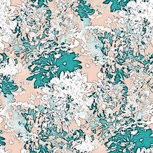 Floral illusions pattern - Katarina