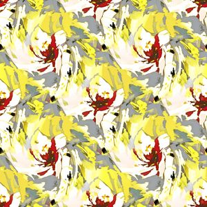 Floral illusions pattern - Charlotte