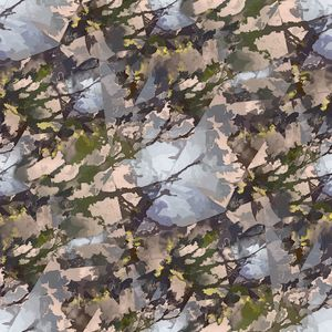 Floral illusions pattern - Emily