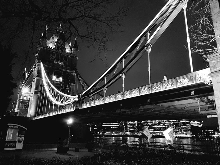 Tower Bridge At Night - Melissa's Designs