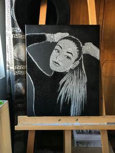 Glitter painting