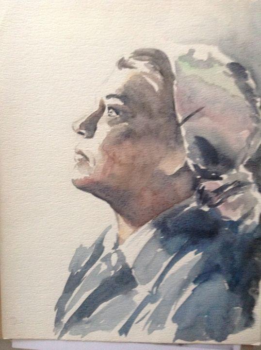 Simone Signoret - Portrait - Artiste en herbe