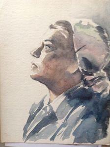 Simone Signoret - Portrait