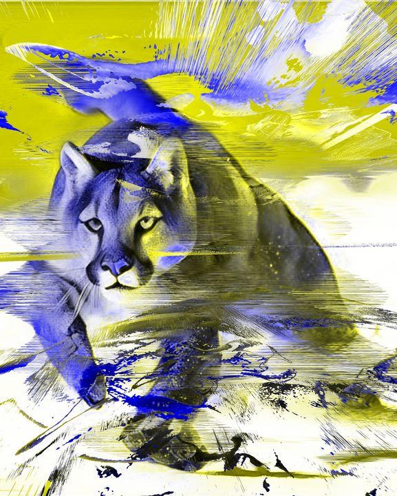 Bc cat 0161 - BC Cats Art