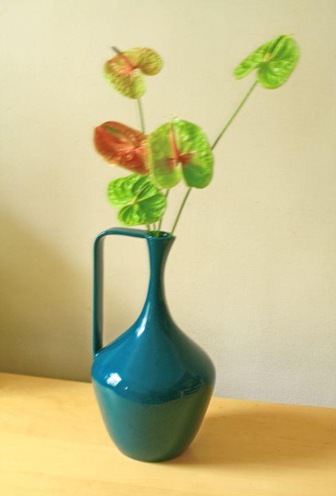 Still Life -Green Vase Composition- - Alexander Henry