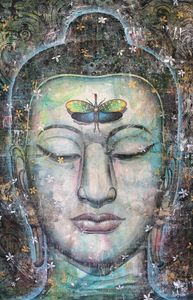 Beautiful Buddha Painting