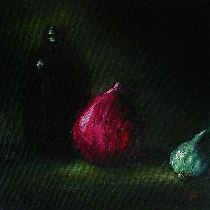 onion with garlic - JK