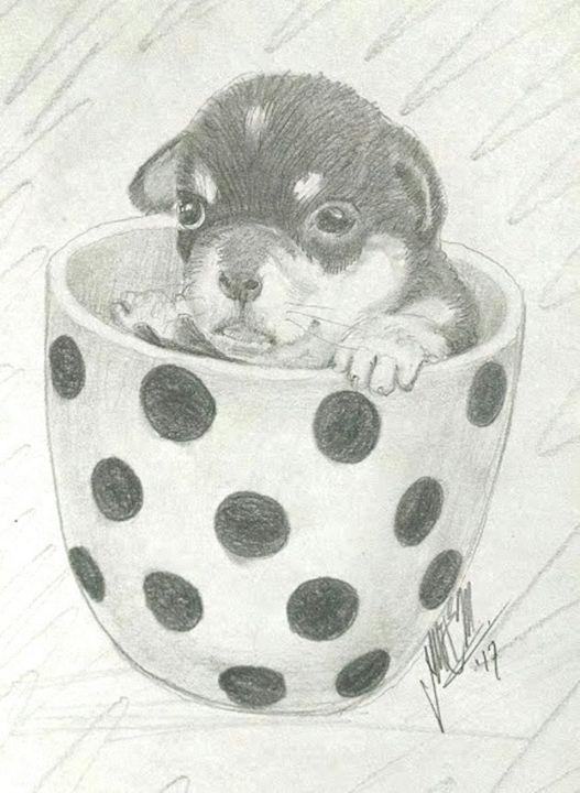 A pup in a cup - Tlachinoihuitl Yoe