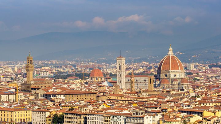 Florence Skyline - Italy - Andy McGarry Photo