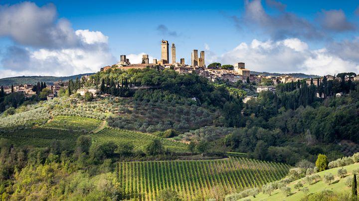 San Gimignano - Andy McGarry Photo