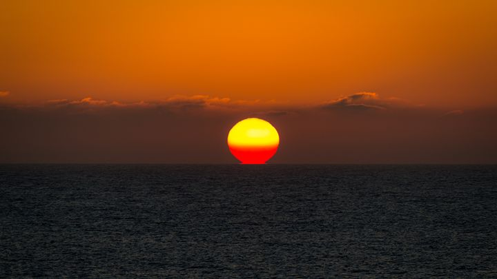Sunset Over the Atlantic - Andy McGarry Photo