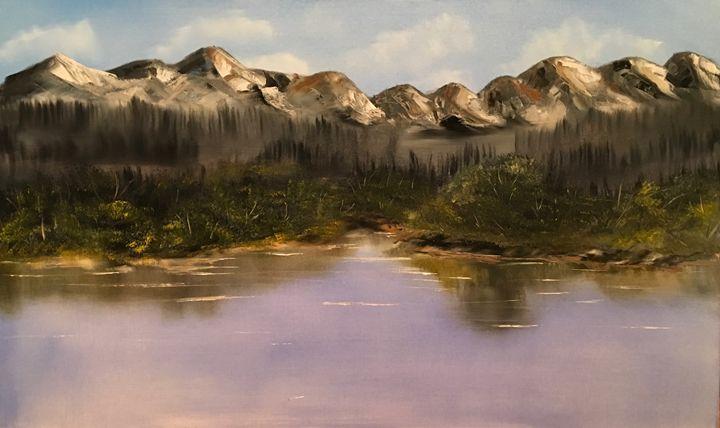 Mountain lake - Liviu Munteanu