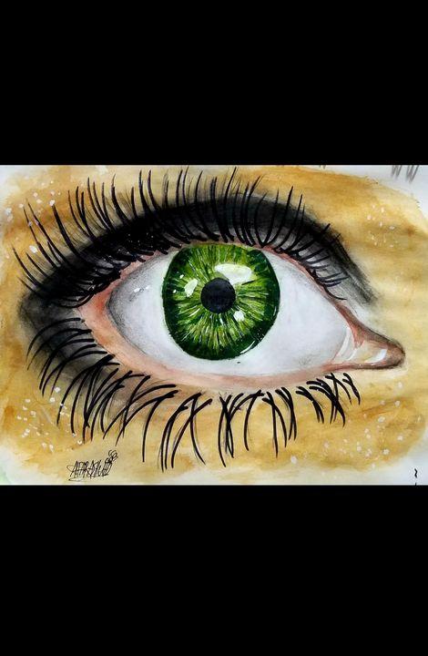 The beauty of the human eye - ALFARASHUH