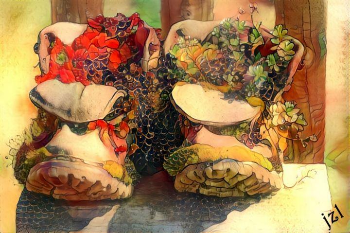 Garden Boots - Artists Korner