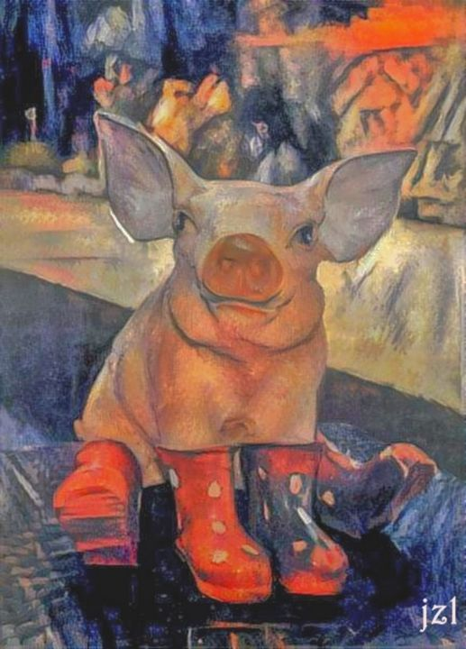 This Little Piggy - Artists Korner