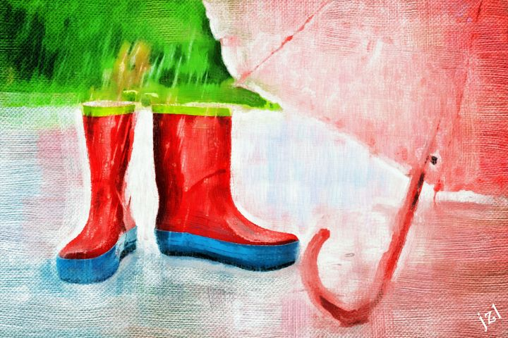 Singing In The Rain - Artists Korner