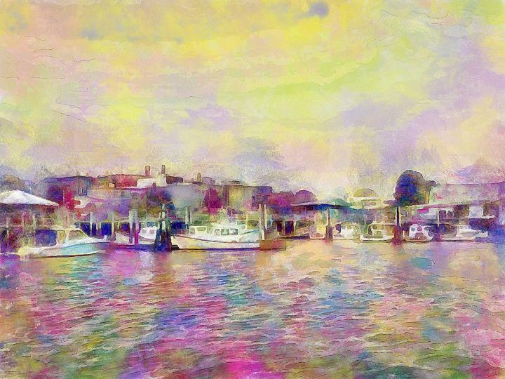 Gloucester Harbor - J LeBrun Studio