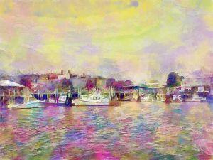 Gloucester Harbor - The Artist Korner