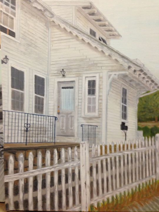 This Old House - Leslie Dannenberg, Oil Paintings