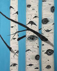 ASPEN EYES - Leslie Dannenberg, Oil Paintings