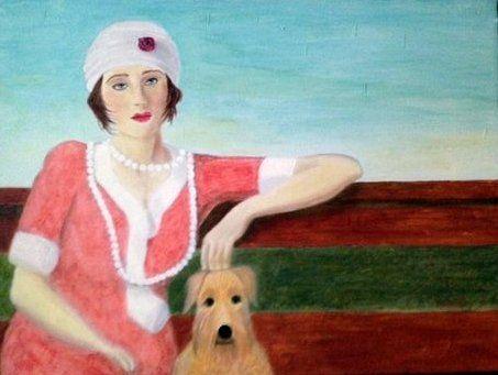 REMINISCING - Leslie Dannenberg, Oil Paintings