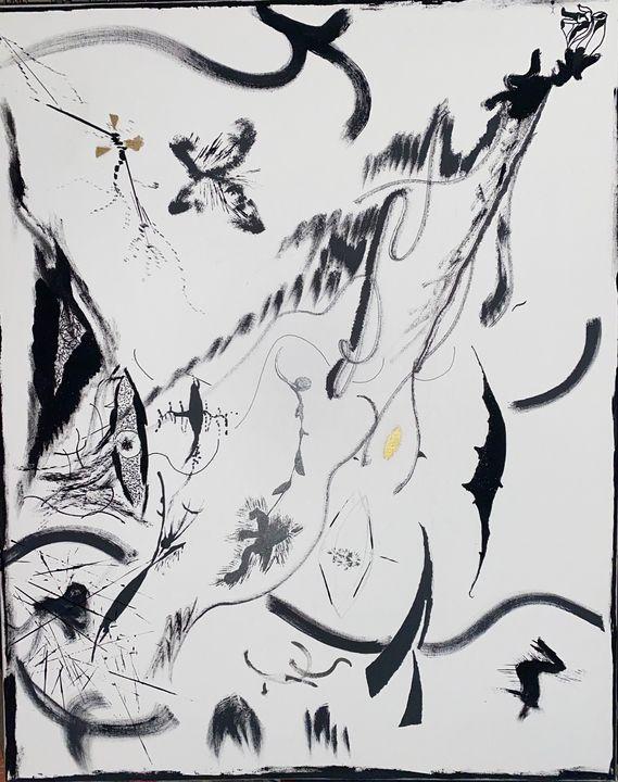 Shattered the Broken - Malick Isaac -IG Isaac_artwork