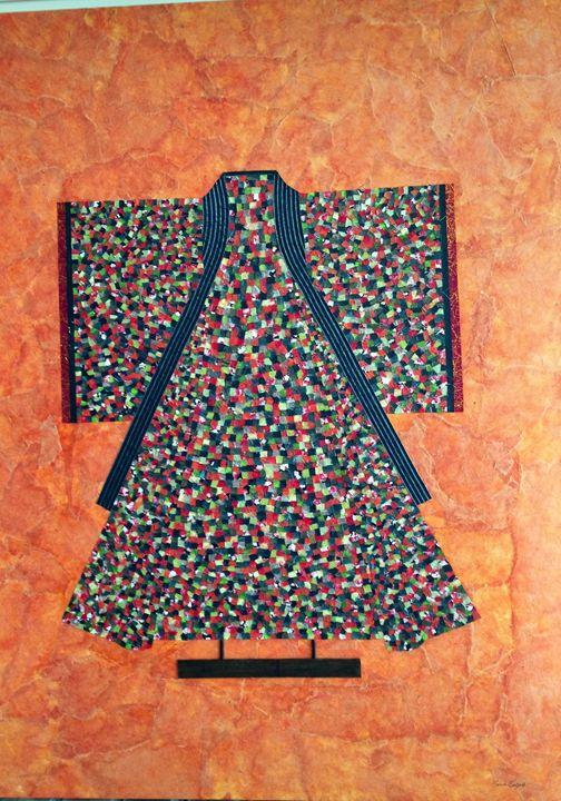 The Kimono - Wood Family Art