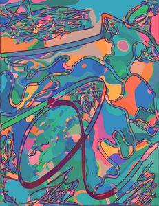 Doodle coaster