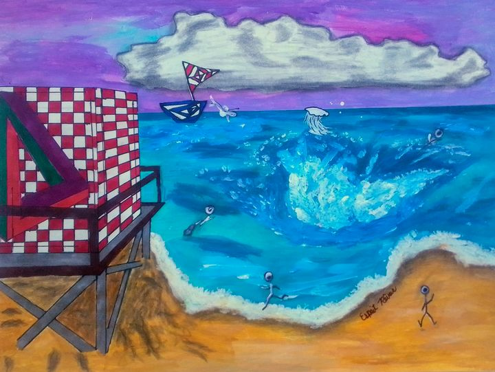 A DAY AT THE BEACH - Esprit Rêveur