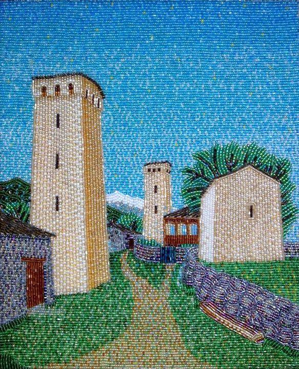 """Svaneti"" - landscapes"