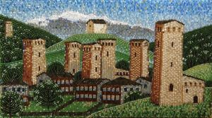 """""""Old towers"""" - landscapes"""