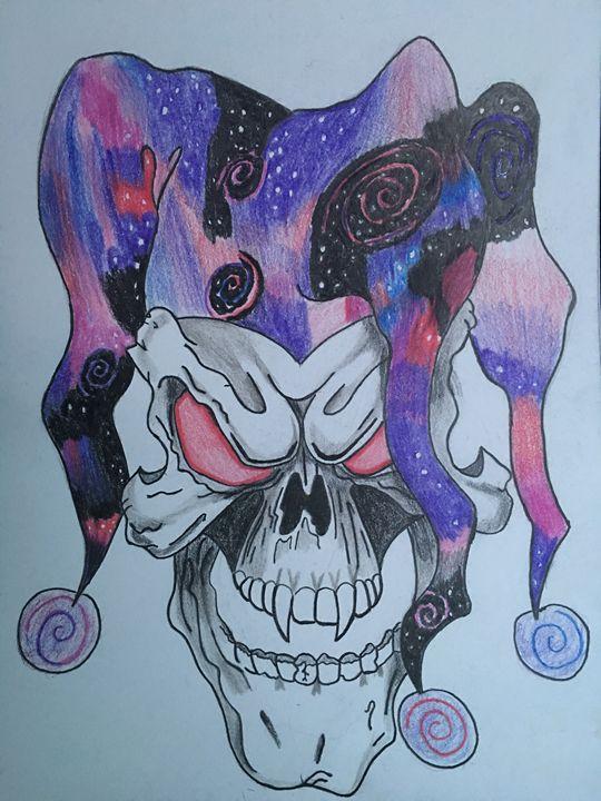 Galaxy skull - Keee_smooth