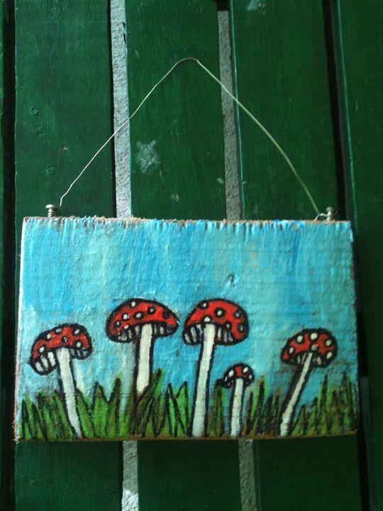 Mushroom Kingdom - Art by Bobbi