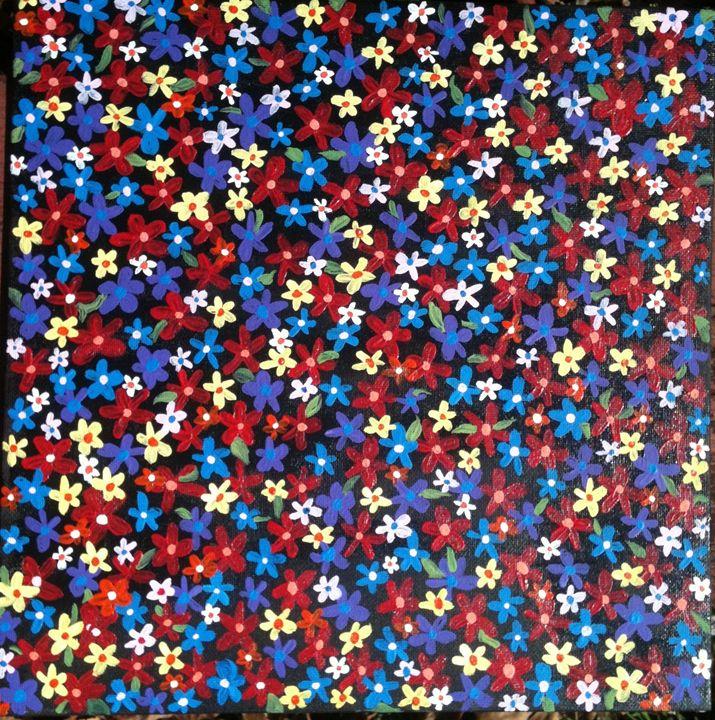 acrylic on canvas - Art by Bobbi