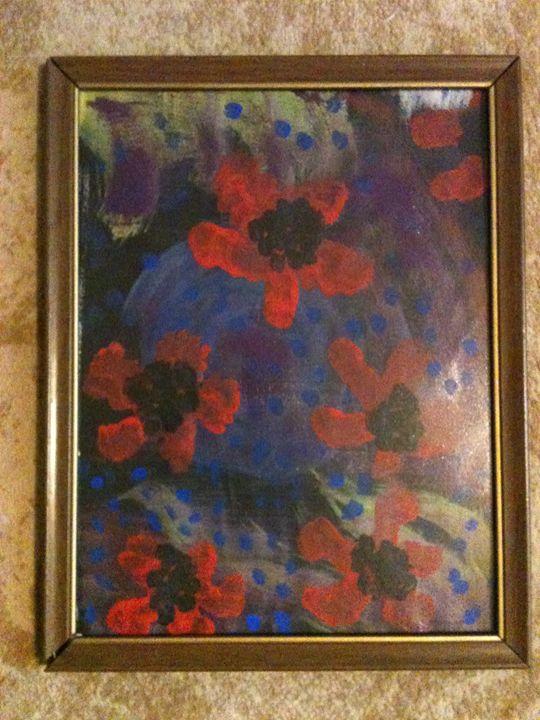 poppies - Art by Bobbi