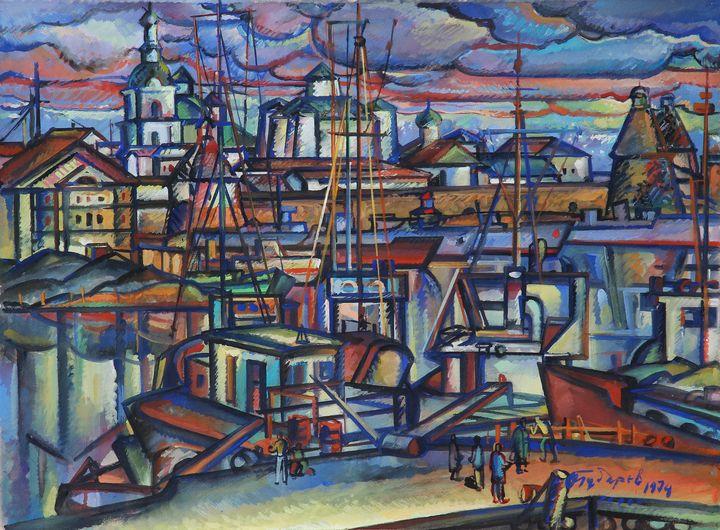 Wharf - Gubarev Alexander